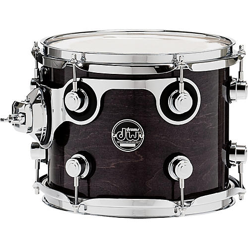 DW Performance Series Tom 8 X 10 Ebony Stain Lacquer