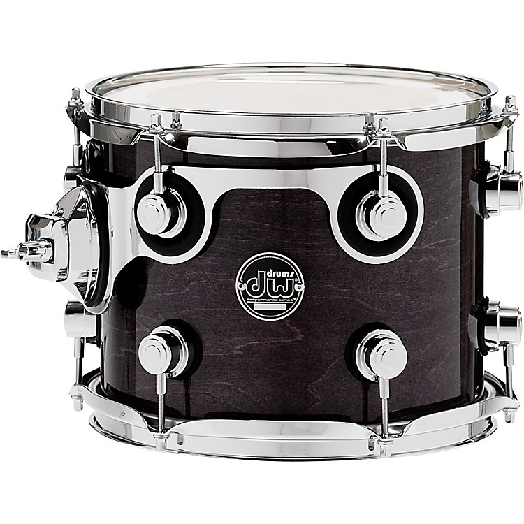 DW Performance Series Tom 8x10 Ebony Stain Lacquer