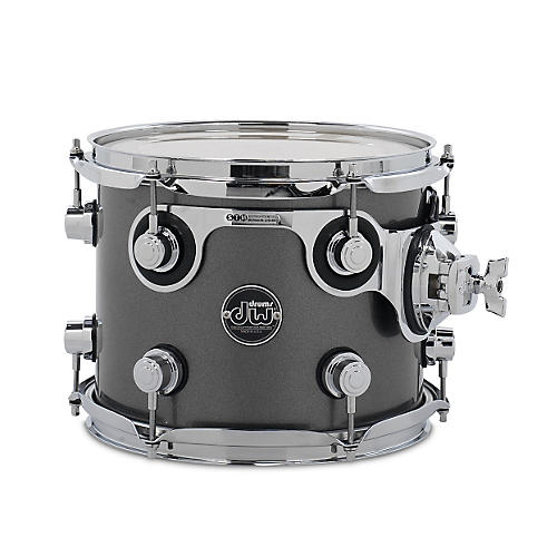 DW Performance Series Tom Gun Metal Metallic Lacquer 8x10