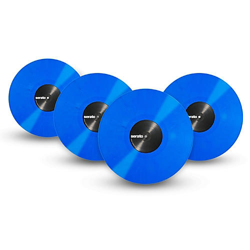 SERATO Performance Series Vinyl (4-Pack) OFFICAL Mis-Print Blue