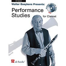 De Haske Music Performance Studies for Clarinet (Book/CD Pack) De Haske Solo Work CD Series Written by Walter Boeykens