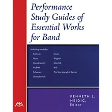 Meredith Music Performance-Study Guides of Essential Works for Band Concert Band