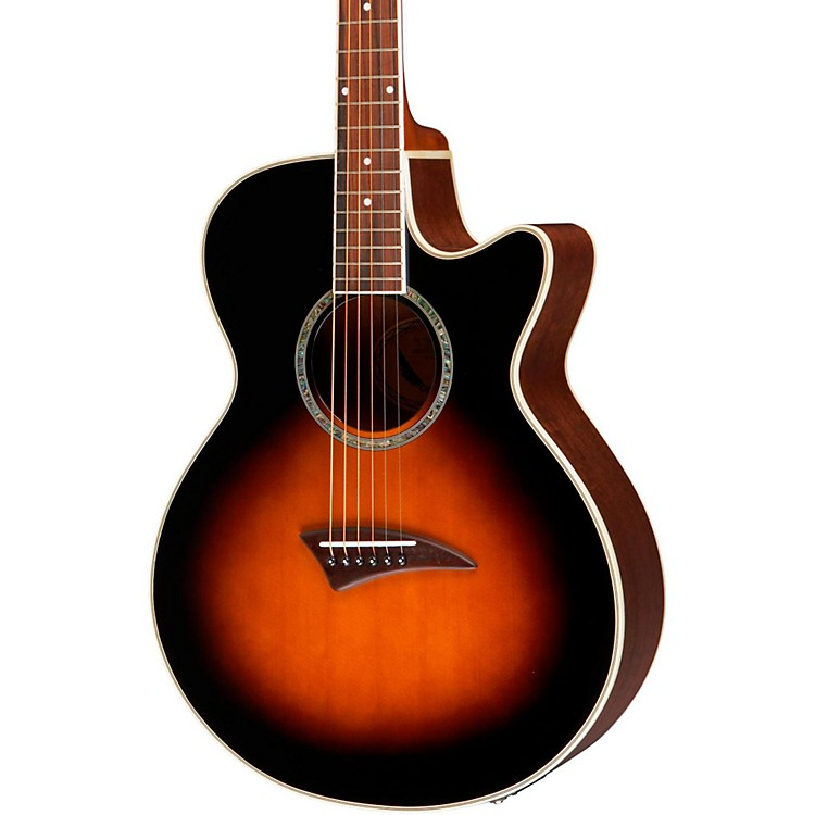 Dean Performer Acoustic-Electric Guitar Tobacco Burst