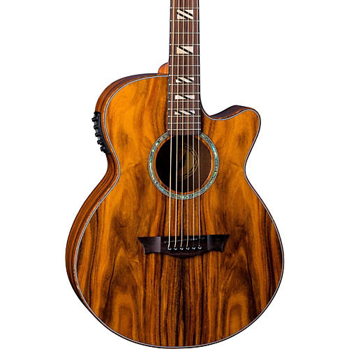 dean performer cocobolo acoustic electric guitar natural musician 39 s friend. Black Bedroom Furniture Sets. Home Design Ideas