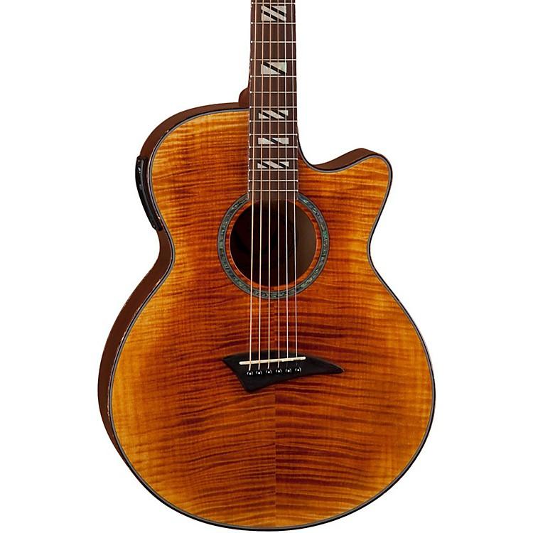 DeanPerformer FM Acoustic-Electric Guitar w/AphexTiger Eye