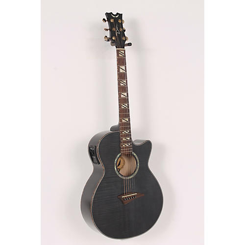 Dean Performer Flame Maple Acoustic-Electric Guitar with Aphex-thumbnail