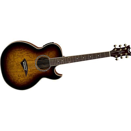 Dean Performer Florentine Quilt Ash Acoustic-Electric Guitar