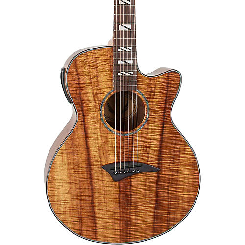 Dean Performer Koa Acoustic-Electric Guitar with Aphex Natural