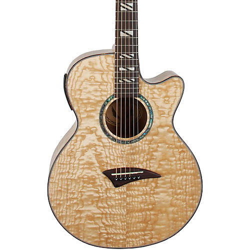Dean Performer Quilt Ash Acoustic-Electric Guitar with Aphex-thumbnail