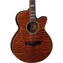 Dean Performer Quilt Mahogany Acoutic-Electric Guitar Natural