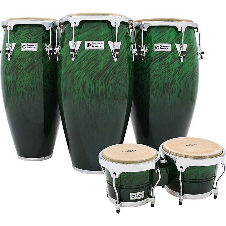 LP Performer Series Conga 3-Piece Set with Free Bongos