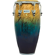 LP Performer Series Conga with Chrome Hardware 11.75 in. Blue Fade