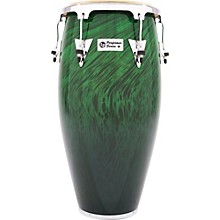 LP Performer Series Conga with Chrome Hardware 11.75 in. Green Fade