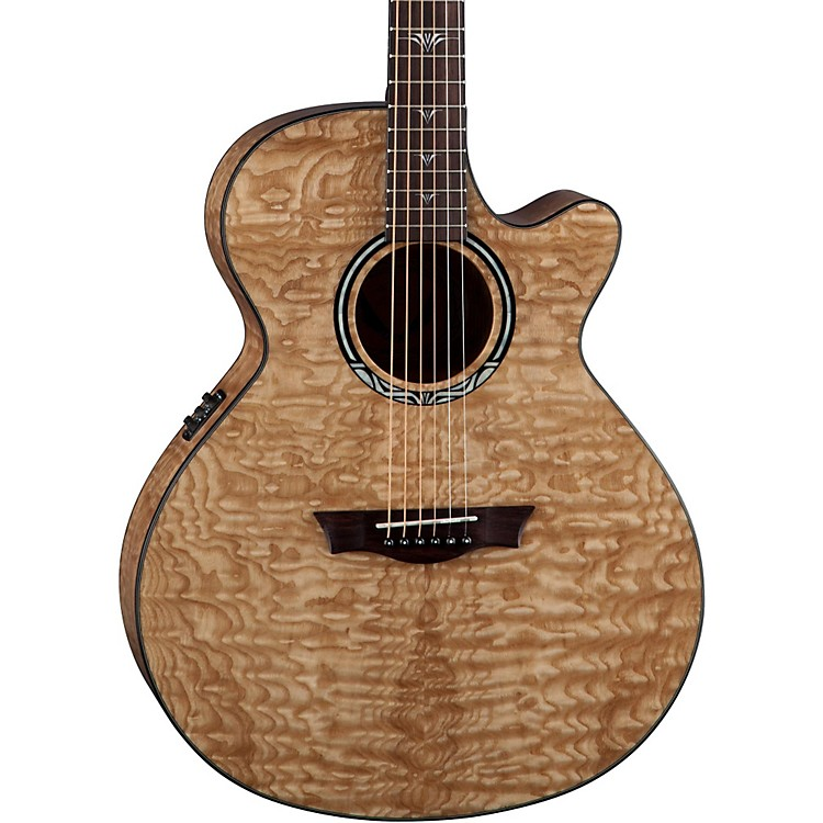 DeanPerformer Ultra Quilt Acoustic-Electric Guitar