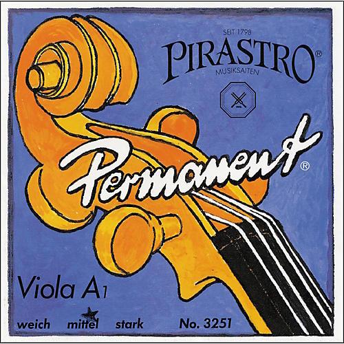 Pirastro Permanent Series Viola A String 16.5 Weich