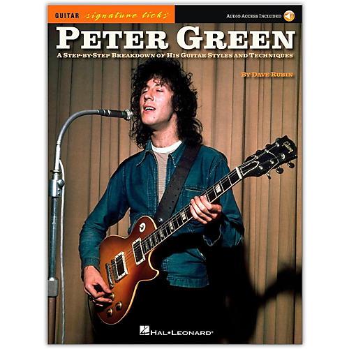 Hal Leonard Peter Green - Guitar Signature Licks Book/Audio Online-thumbnail