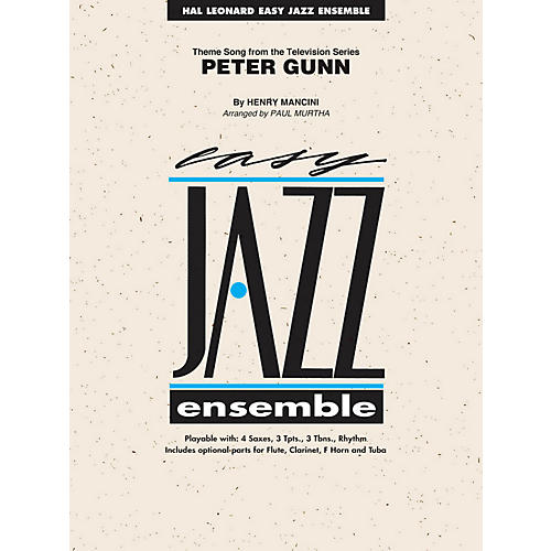 Hal Leonard Peter Gunn - Easy Jazz Ensemble Series Level 2