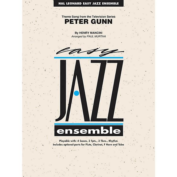 Hal LeonardPeter Gunn - Easy Jazz Ensemble Series Level 2