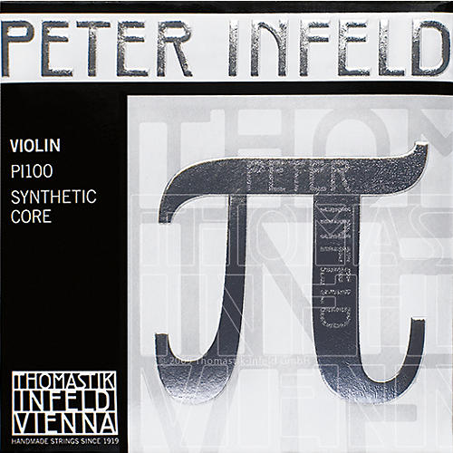 Thomastik Peter Infeld 4/4 Size Violin Strings 4/4 Size Set with Platinum E
