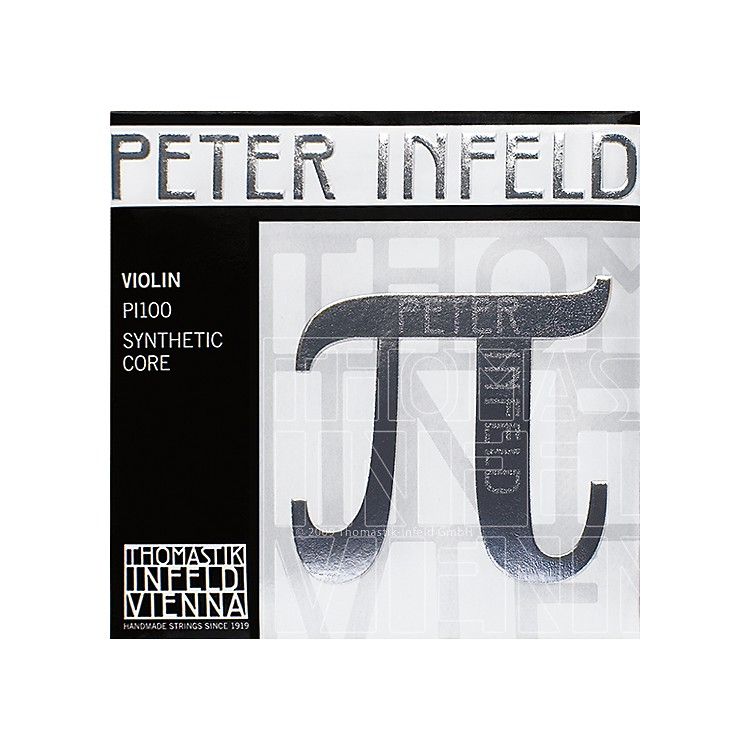 Thomastik Peter Infeld 4/4 Size Violin Strings 4/4 Size Silver D String