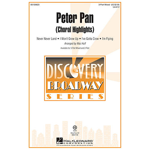 Hal Leonard Peter Pan (Choral Highlights) ShowTrax CD Arranged by Mac Huff-thumbnail