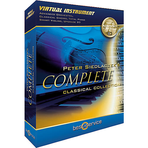 Best Service Peter Siedlaczek's Complete Classical Collection Virtual Instrument