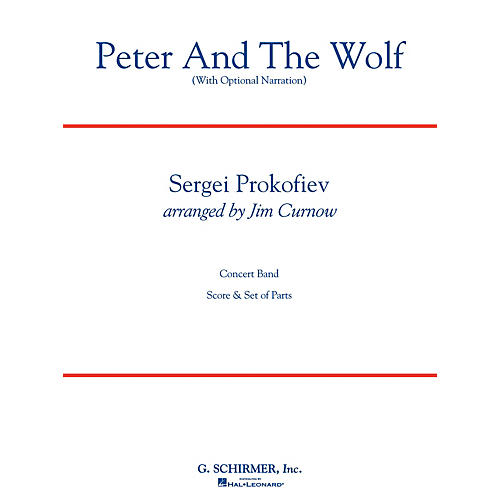 G. Schirmer Peter and the Wolf Concert Band Level 3 Composed by Sergei Prokofiev Arranged by James Curnow-thumbnail