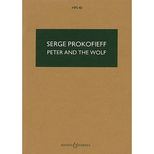 Boosey and Hawkes Peter and the Wolf, Op. 67 (Study Score) Study Score Series Composed by Sergei Prokofiev-thumbnail