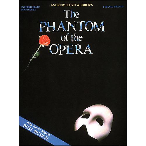 Hal Leonard Phantom Of The Opera 1 Piano 4 Hands Intermediate Piano Duet