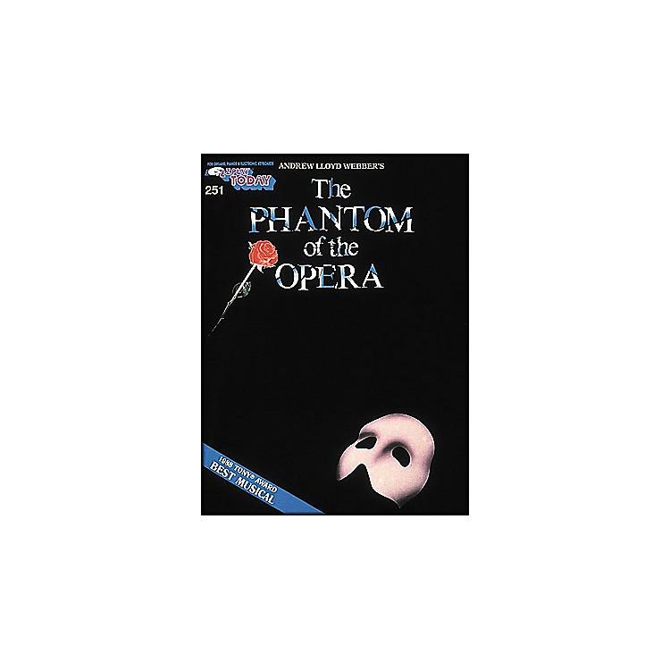 Hal LeonardPhantom Of The Opera E-Z Play 251