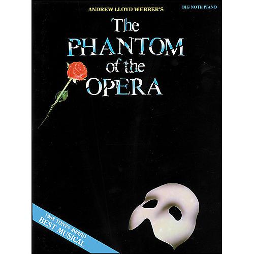 Hal Leonard Phantom Of The Opera for Big Note Piano