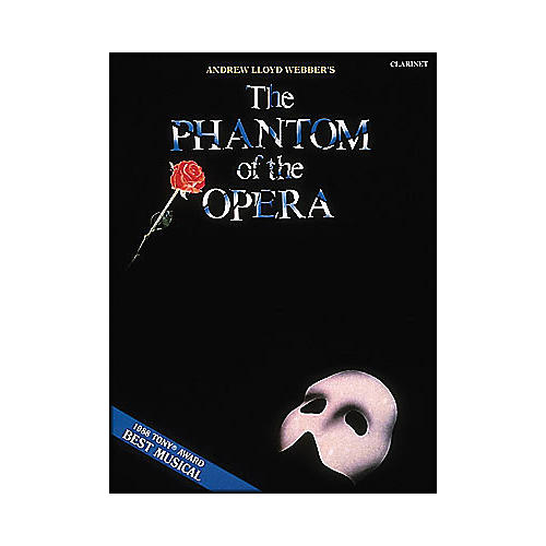 Hal Leonard Phantom Of The Opera for Clarinet-thumbnail