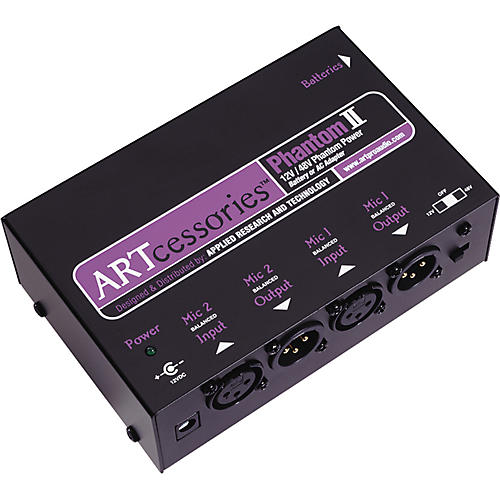 ART Phantom ll Dual Phantom Power