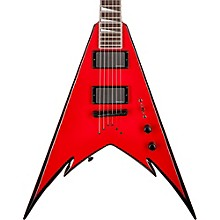 Jackson Phil Demmel PDXT String-Through King V Electric Guitar Red with Black Bevels Rosewood