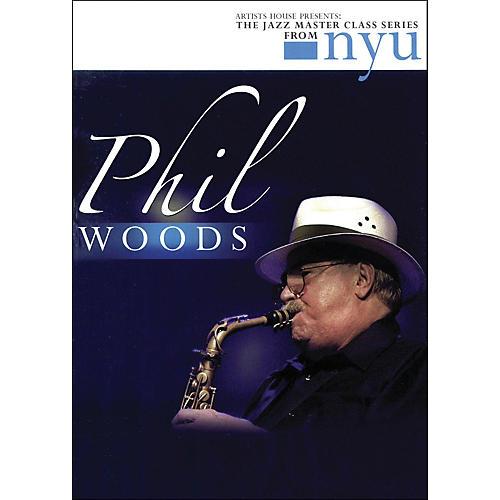 Hal Leonard Phil Woods - The Jazz Master Class Series From NYU (DVD)