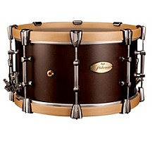 Open Box Pearl Philharmonic African Mahogany Snare w/ Maple Hoops 15x8""