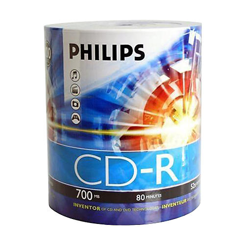 Philips Philips CDR 52X 700MB/80-Minute 100-pack-thumbnail
