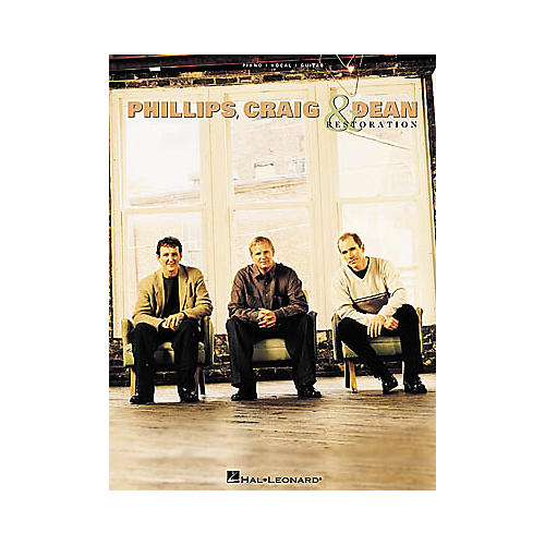 Hal Leonard Phillips Craig & Dean - Restoration Piano, Vocal, Guitar Songbook