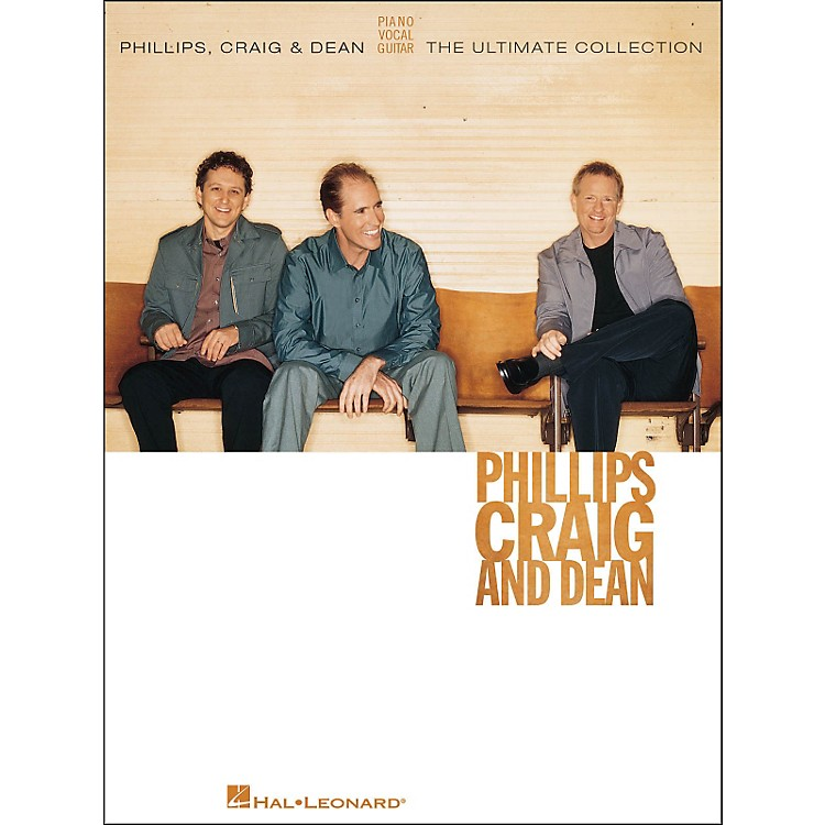 Hal LeonardPhillips, Craig & Dean The Ultimate Collection arranged for piano, vocal, and guitar (P/V/G)