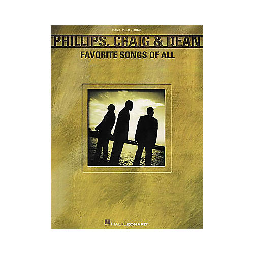 Hal Leonard Phillips, Craig and Dean - Favorite Songs of All Piano/Vocal/Guitar Artist Songbook