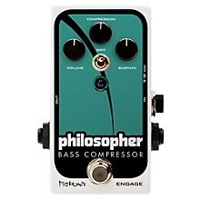 Pigtronix Philosopher Bass Compressor Effects Pedal Level 1