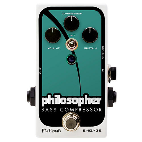 Pigtronix Philosopher Bass Compressor Effects Pedal-thumbnail