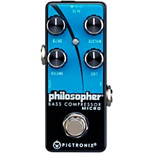 Pigtronix Philosopher Bass Compressor Micro Effects Pedal