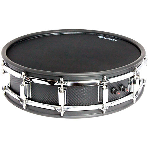 Pintech Phoenix Dual Zone Carbon Fiber Snare Drum 14 in. Black