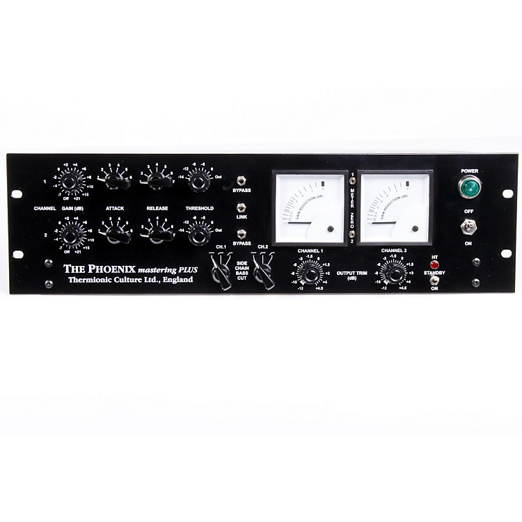 Thermionic Culture Phoenix Mastering Plus Blackface Master Plus Stereo Tube Compressor