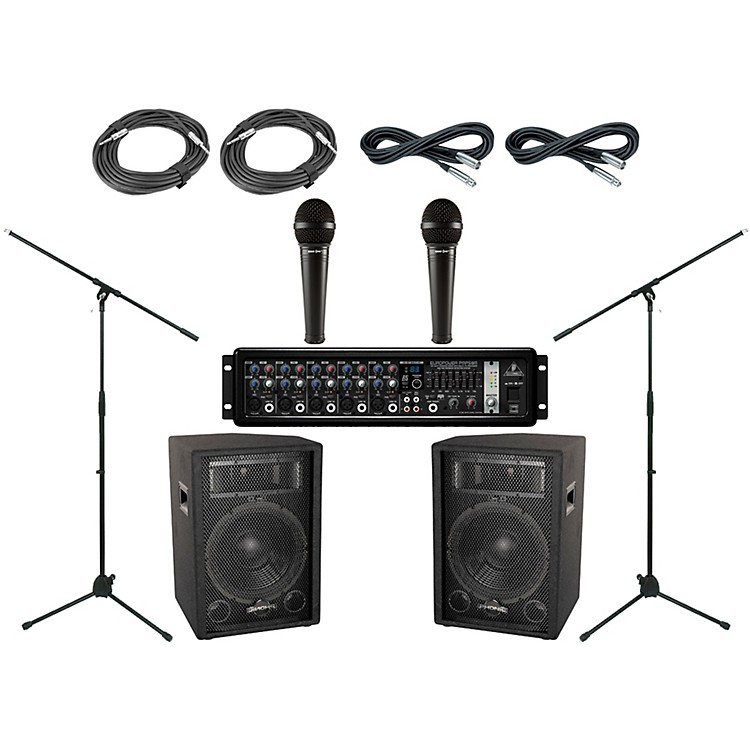 Behringer Phonic S712 PA Package