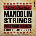Dunlop Phospher Bronze 8-String Mandolin Set Light  Thumbnail