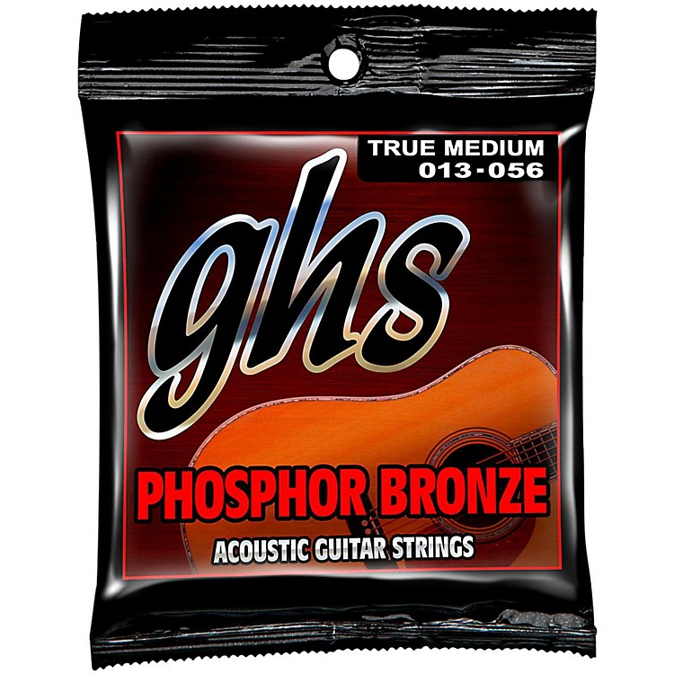 GHS Phosphor Bronze Acoustic Guitar Strings True Medium