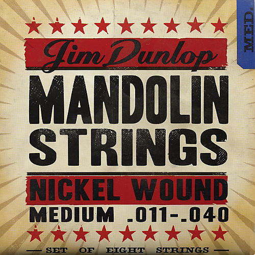 Dunlop Phosphor Nickel Light 8-String Mandolin Strings