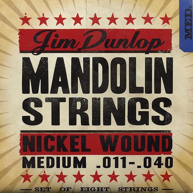 DunlopPhosphor Nickel Light 8-String Mandolin Strings